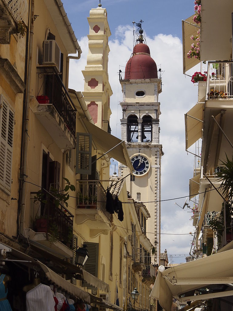 Собор Святого Спиридона, колокольня