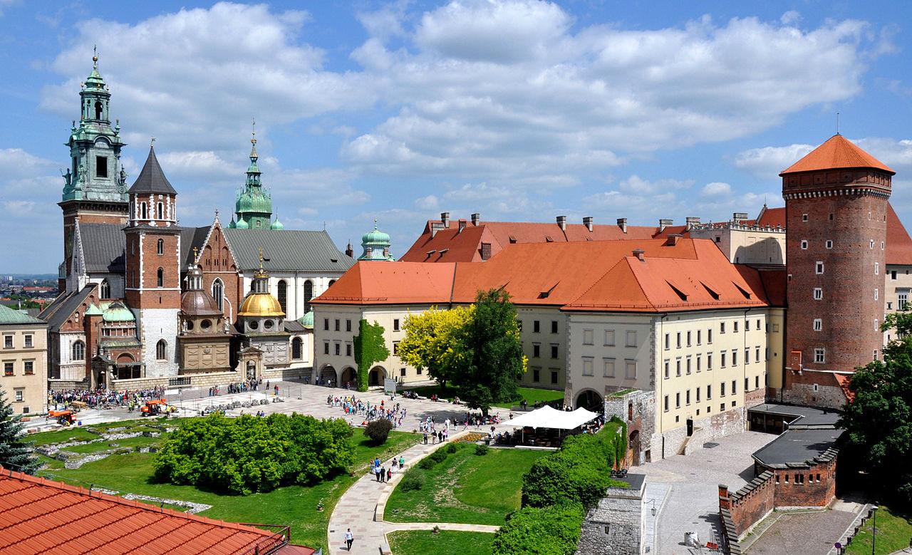 Королевский замок (Вавель) в Кракове