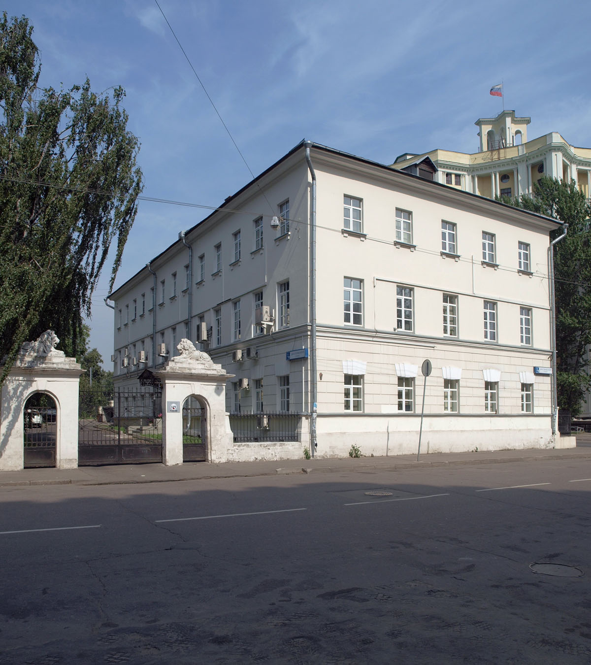 Музей-квартира Достоевского в Москве, в левом флигеле бывшей Мариинской больницы