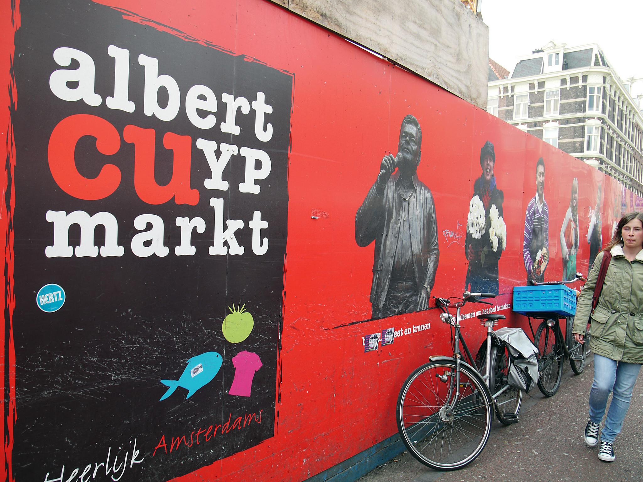 Рынок Альберта Кёйпа, у входа