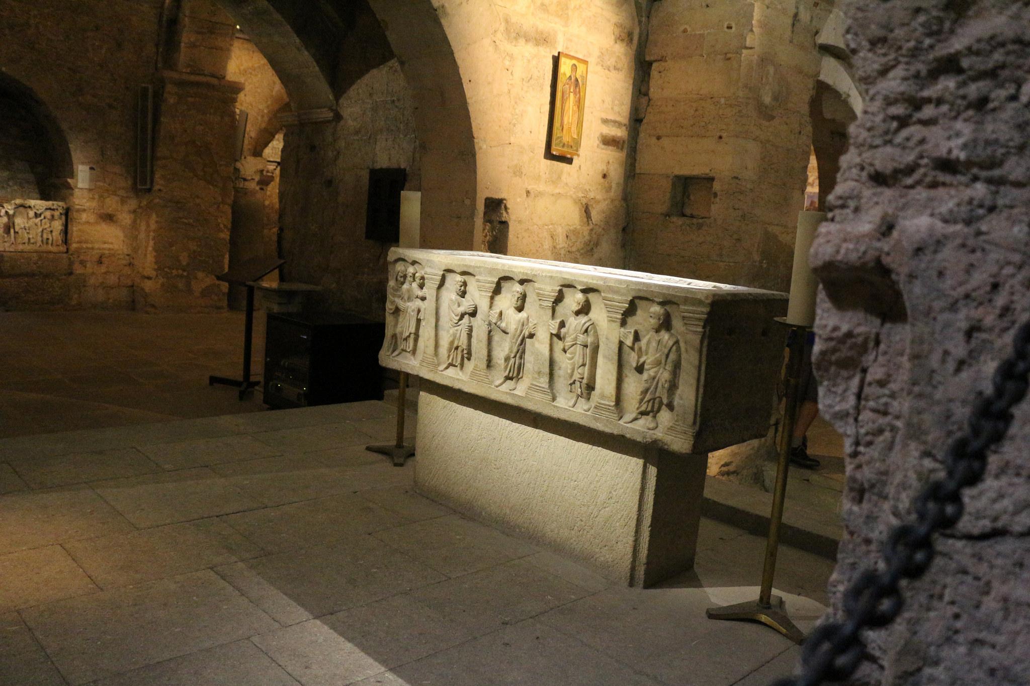 Аббатство Сен-Виктор, алтарь-саркофаг