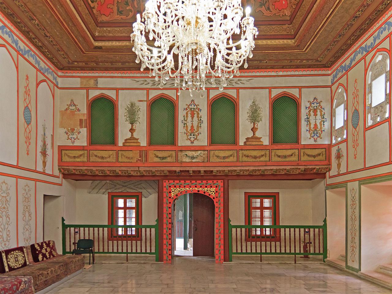 Бахчисарайский дворец, Диванный зал в Ханском дворце
