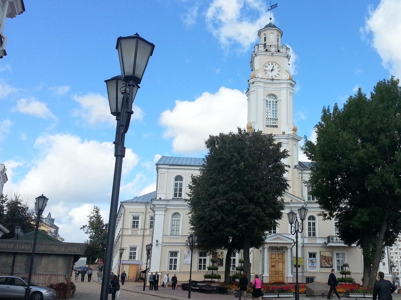 Витебская ратуша, областной краеведческий музей
