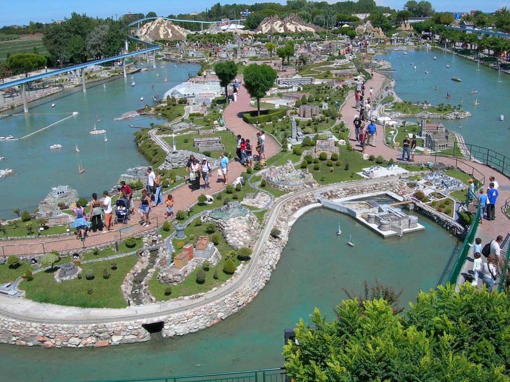 Италия в миниатюре, парк в Римини
