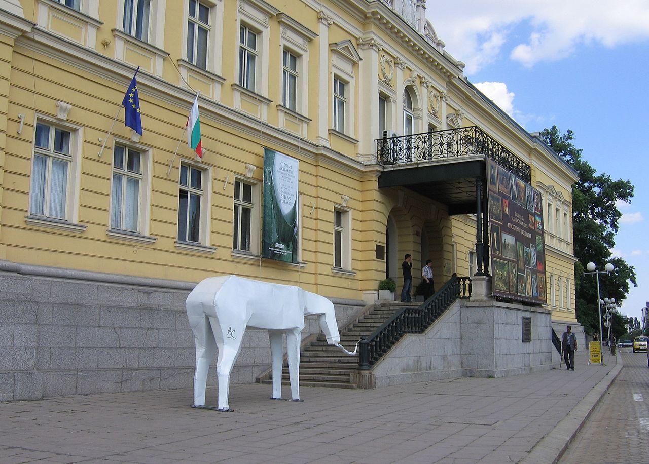 Национальная художественная галерея Болгарии, у входа