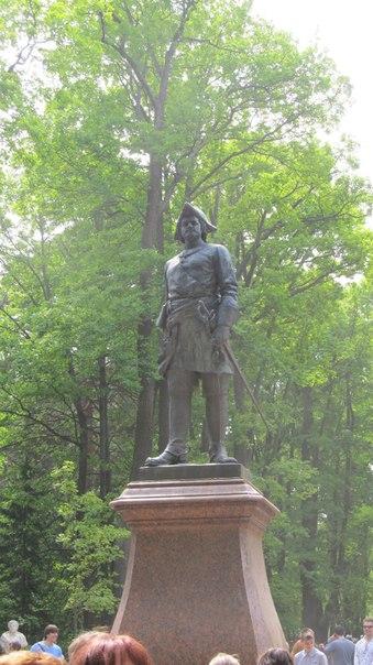 Памятник Петру I, Петергоф.jpg