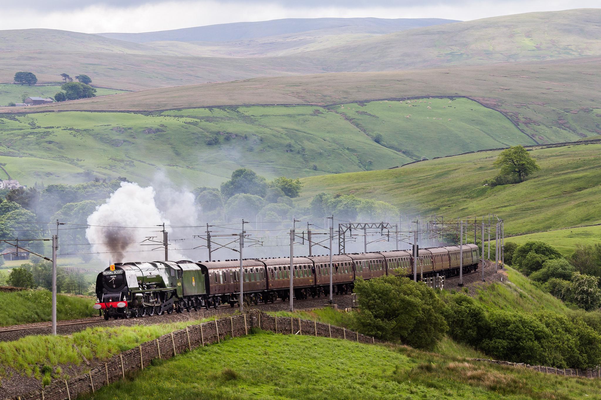 Путешествие на поезде «Королевский шотландец»