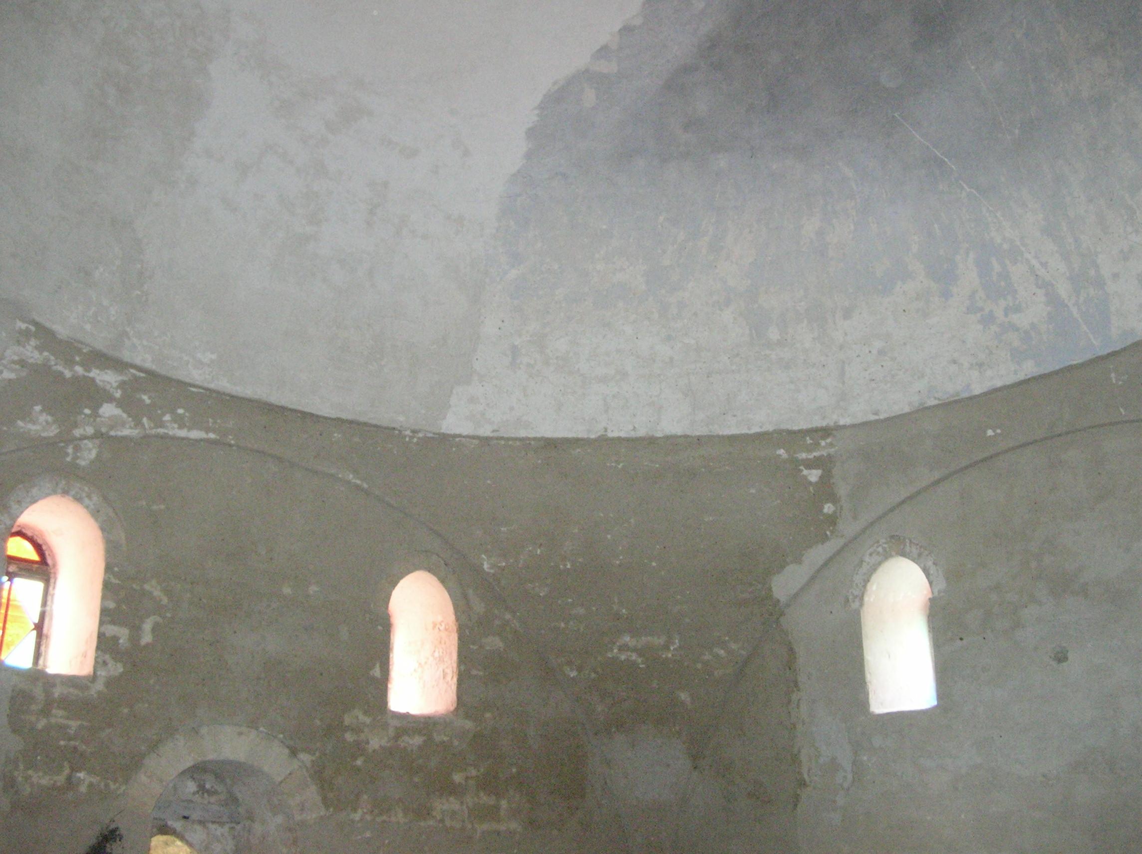Часть купола и свода текие