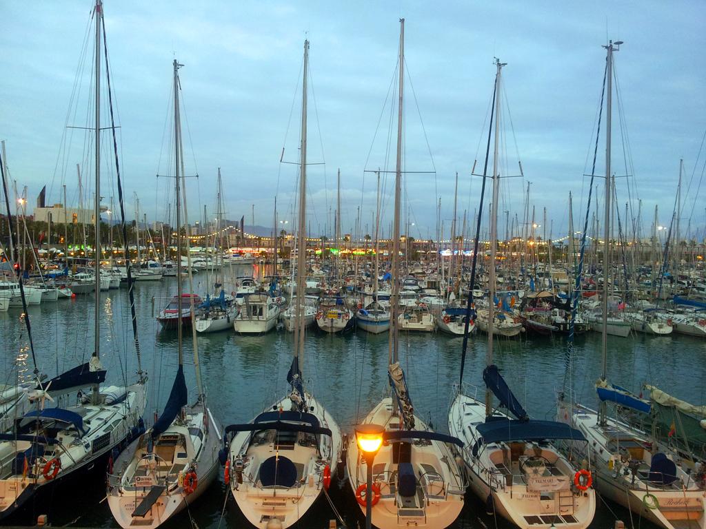 Барселонета, яхтенный причал
