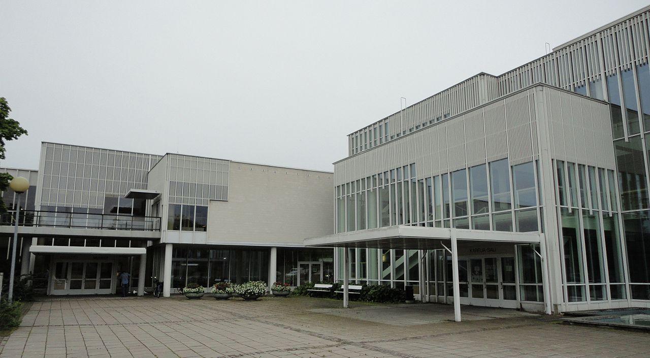 Городской музей Иматры в здании Культурного центра