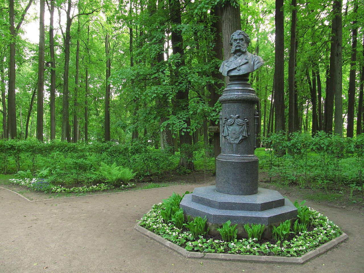 Остафьево, памятник Вяземскому