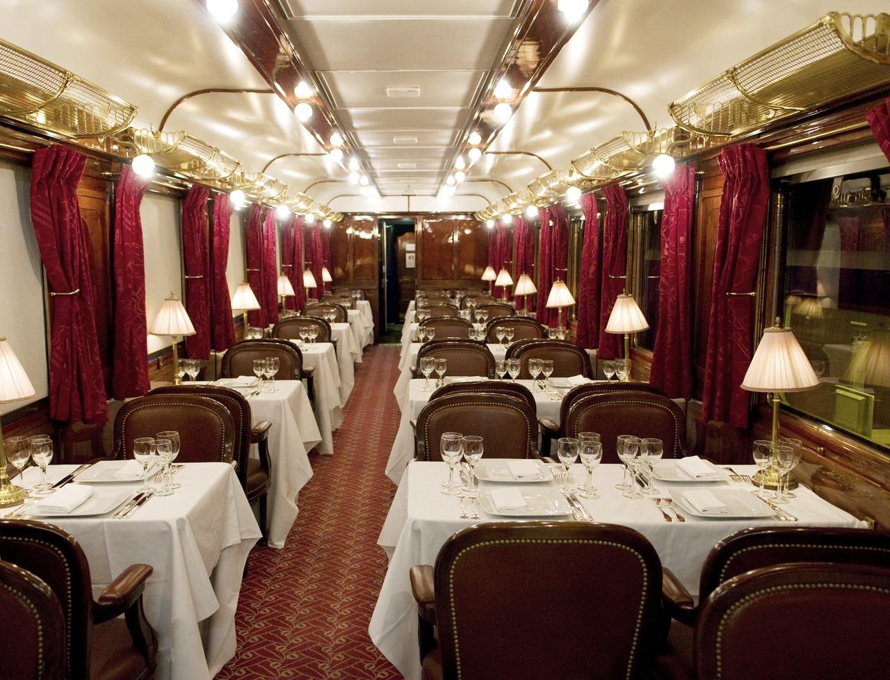 Пассажирский поезд Восточный экспресс, ресторан
