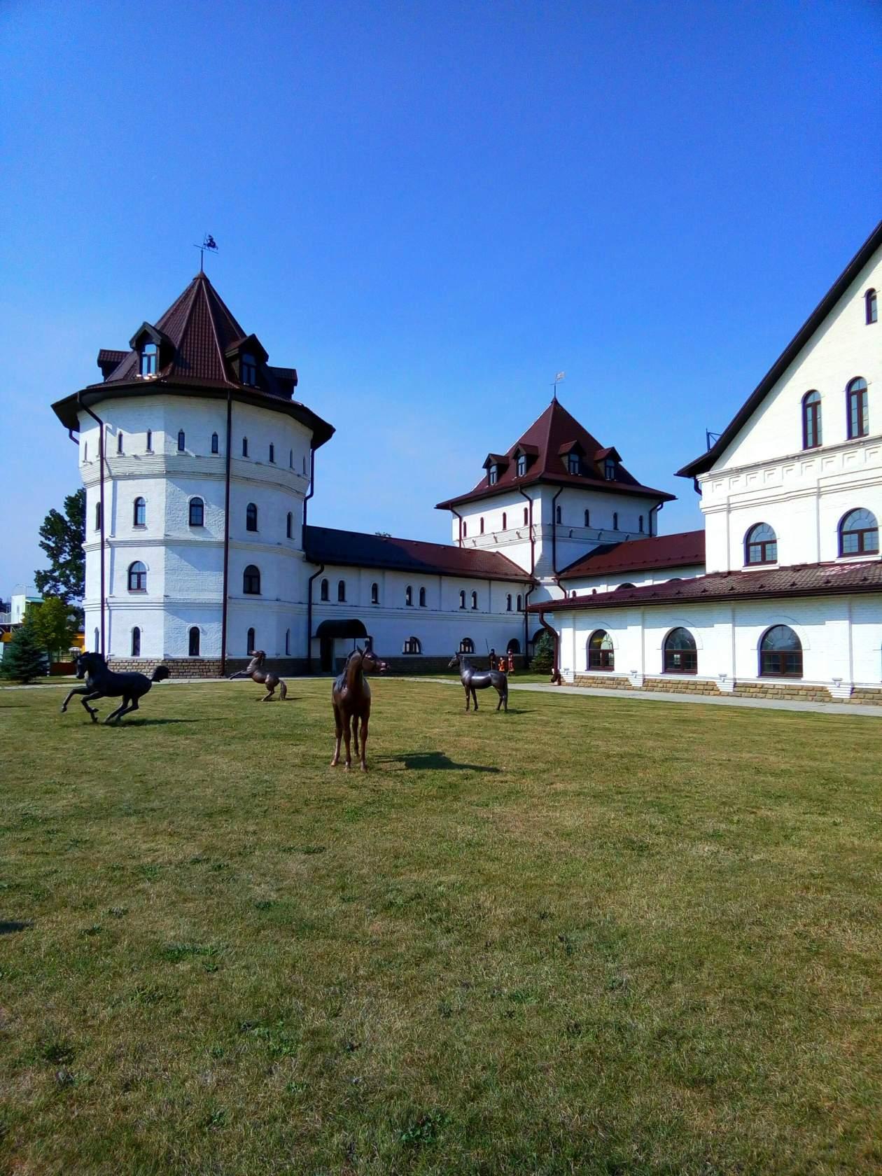 Территория конного парка «Русь»