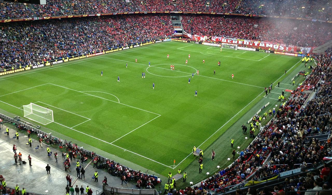 Амстердам Арена, перед началом игры