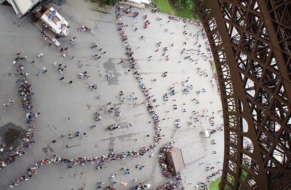 Люди Парижа, Франция