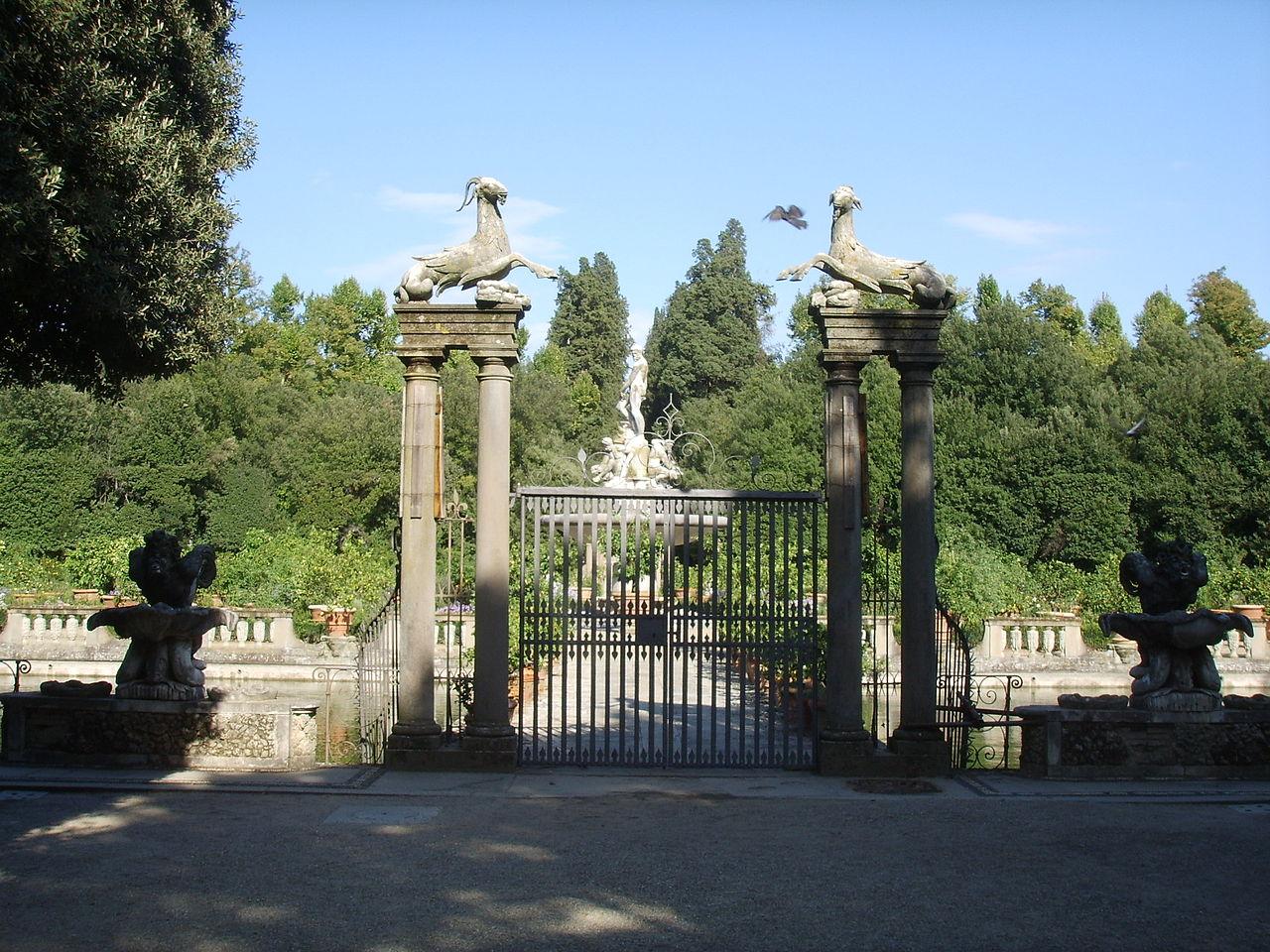 Сады Боболи, ворота