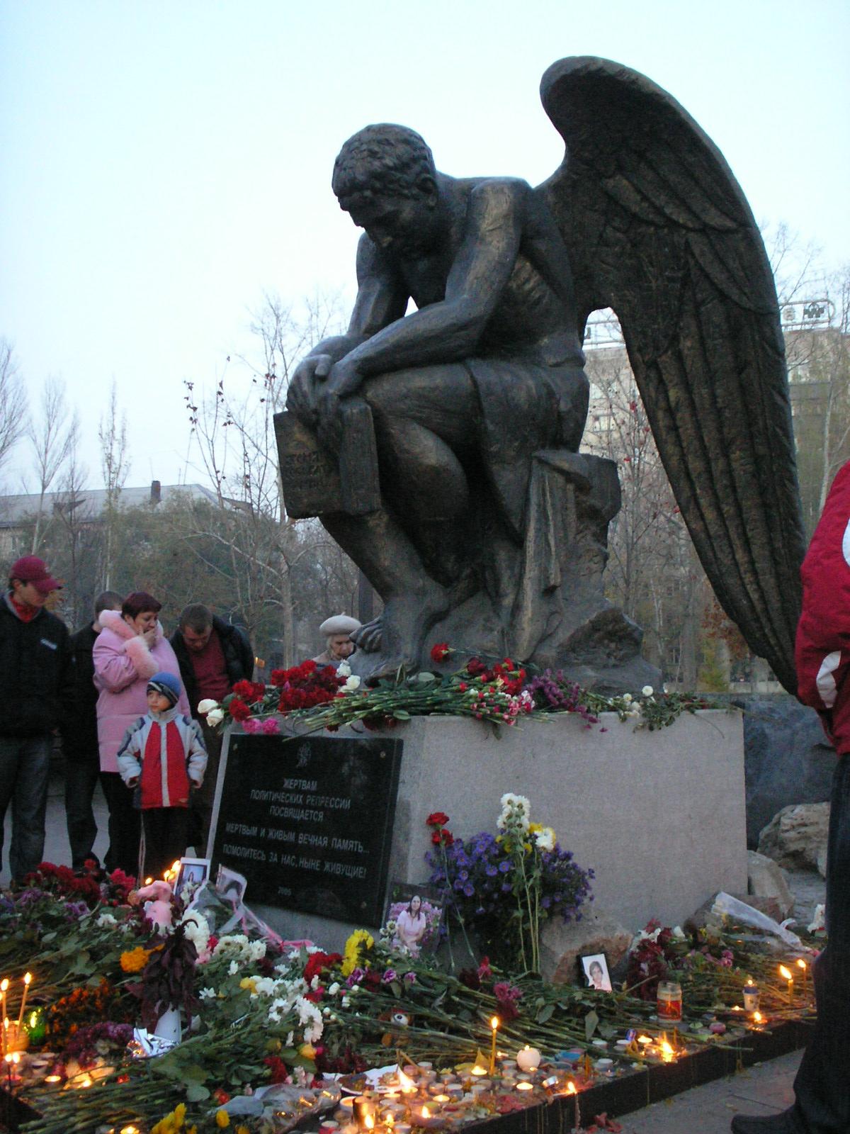«Скорбящий ангел» в Тольятти