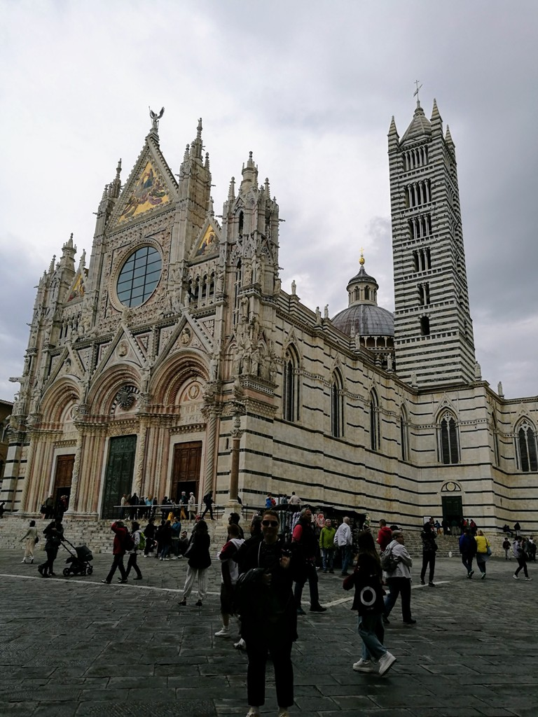Вид на Сиенский собор, Италия