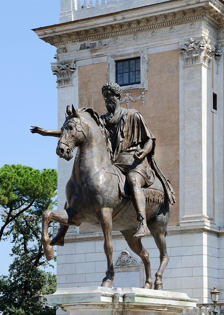 Капитолийский холм, статуя Марка Аврелия