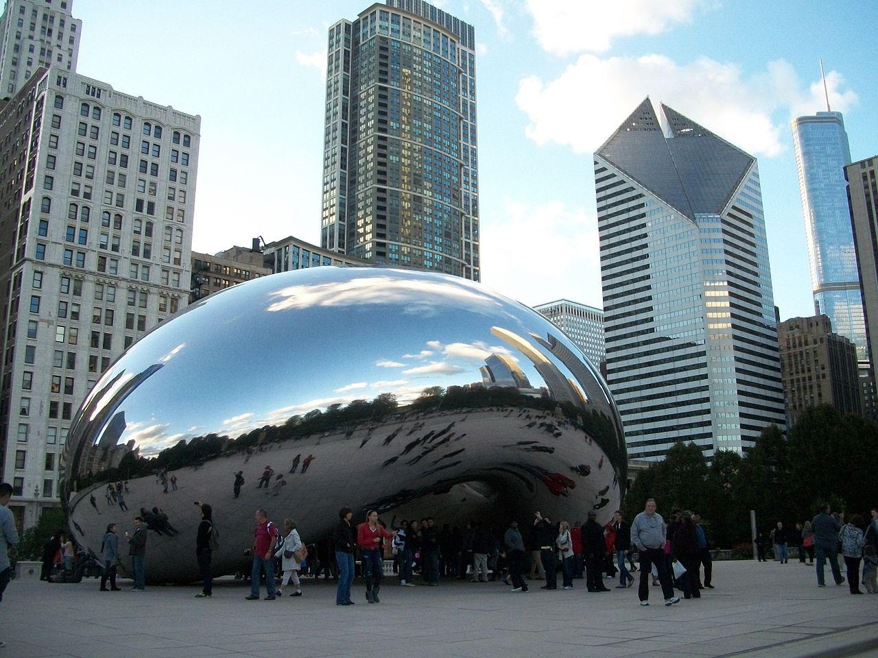 Миллениум-парк в Чикаго, Облачные врата