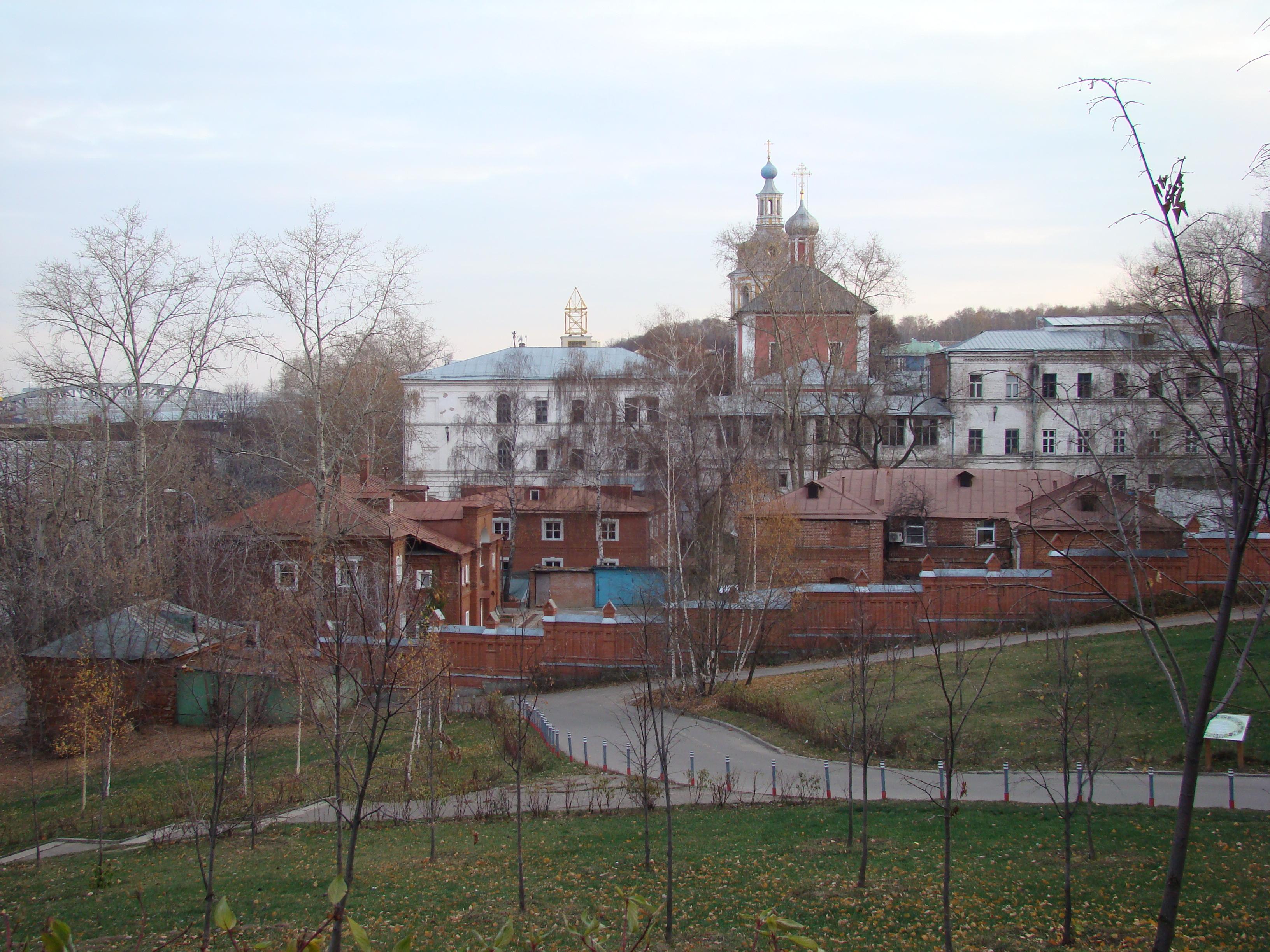 Москва, Андреевский монастырь