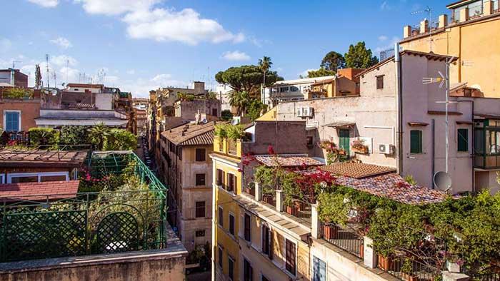 Недорогие отели Рима Grifo 3.jpg