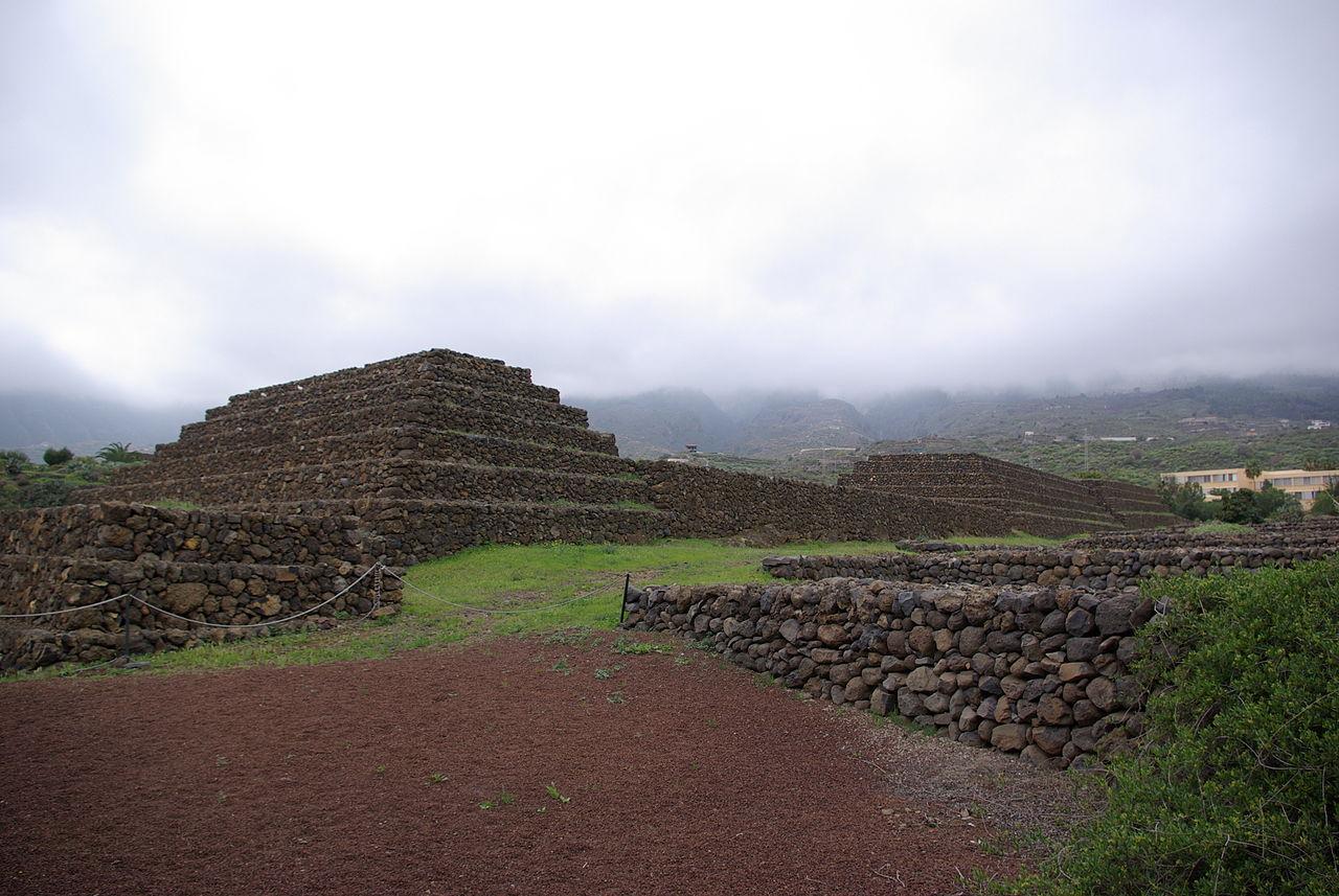 Пирамиды Гуимар на юго-восточном побережье Тенерифе