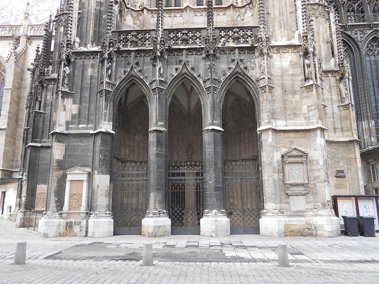 Собор Св. Стефана, вход