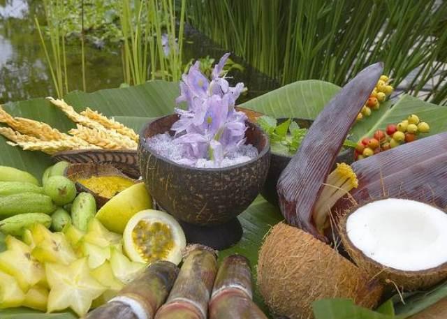 Экзотические растения на Сейшелах