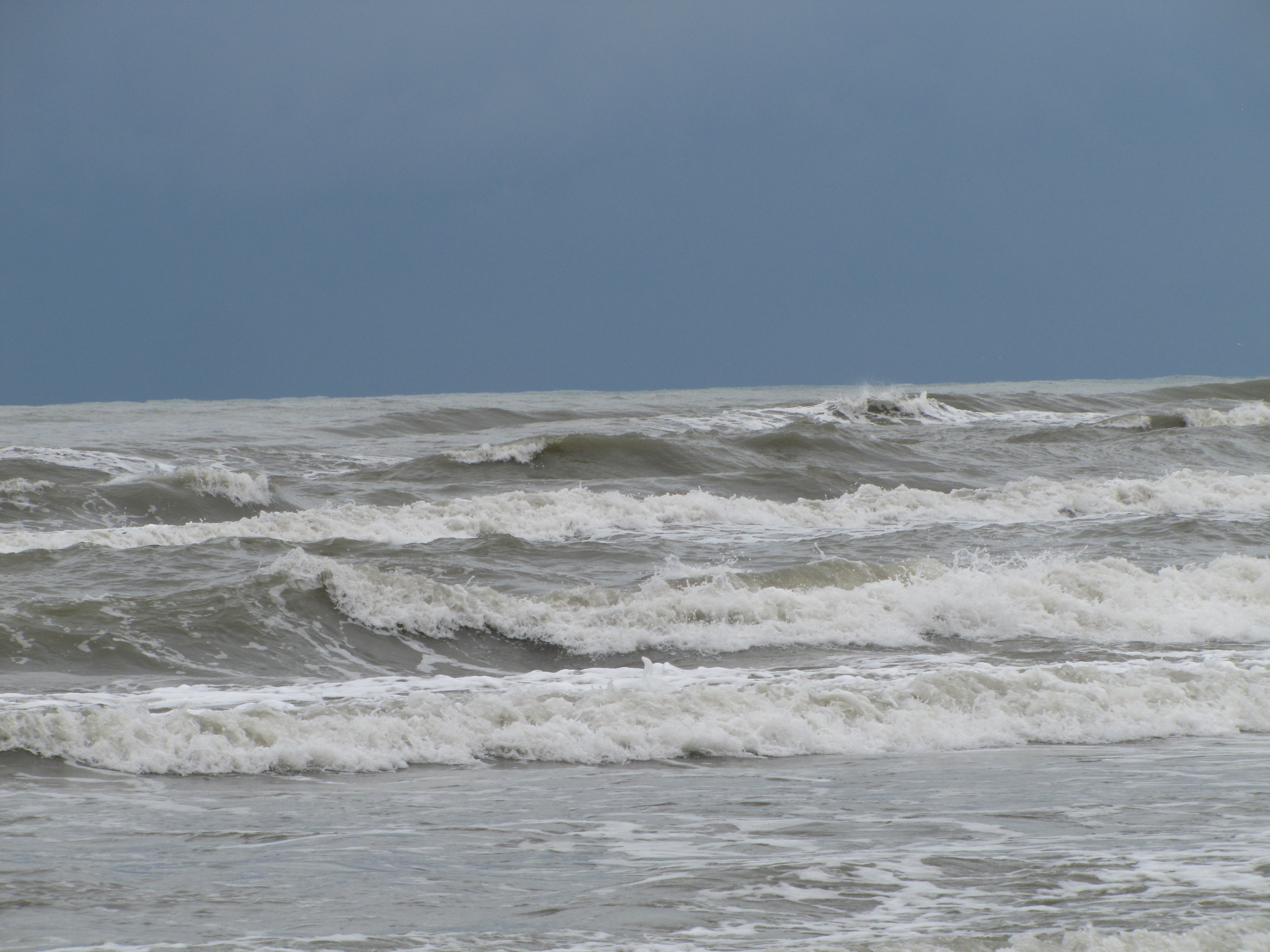 штормы на каспийском море