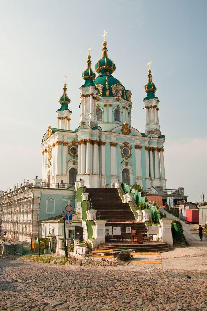 Андреевская Церковь.Фасад.