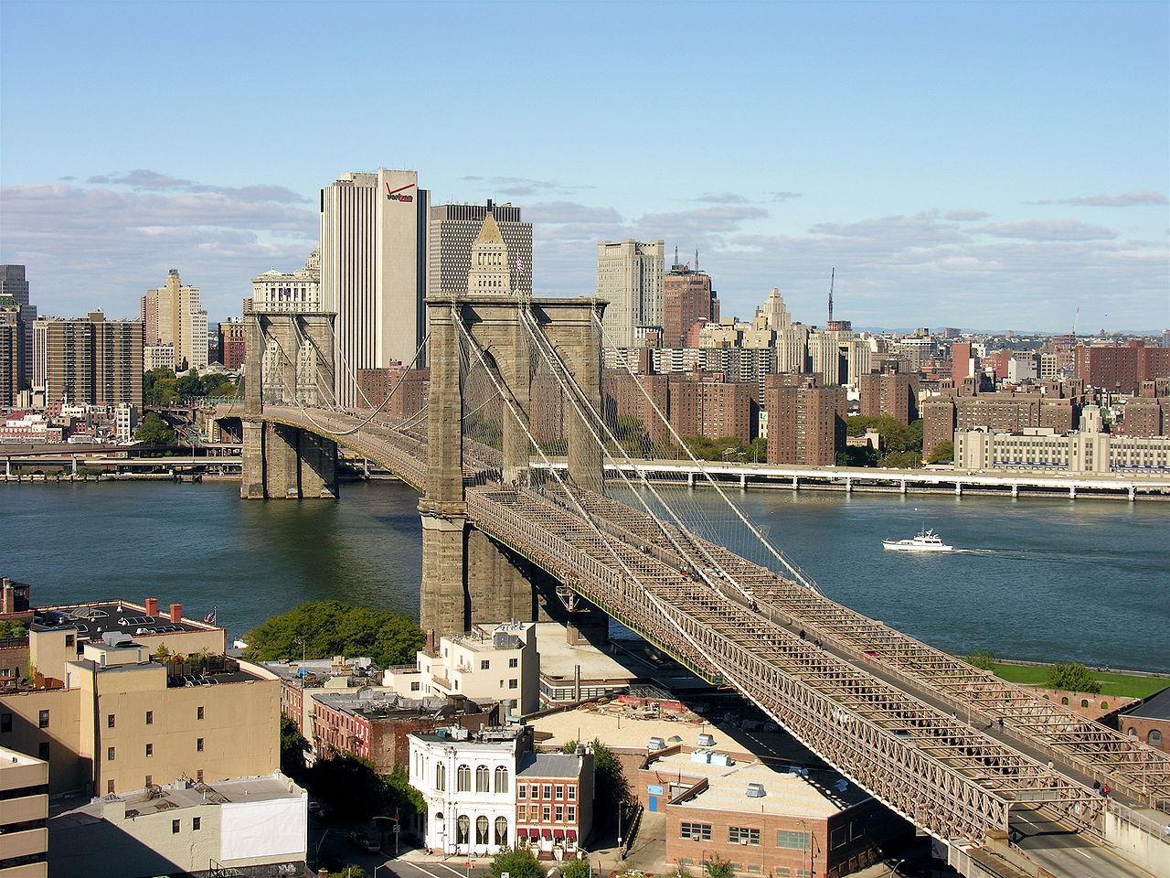 Бруклинский мост, NYC