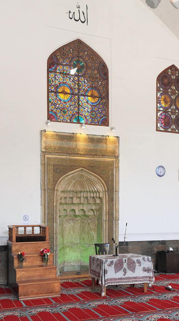 Голубая мечеть в Ереване, михраб