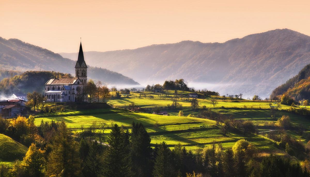 Виды Словении