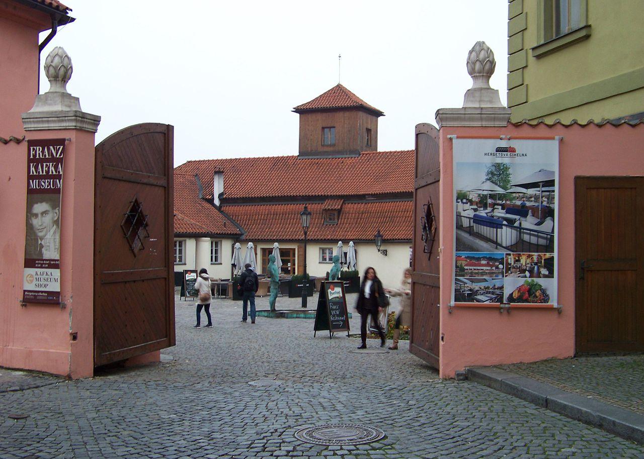 Музей Кафки в Праге, вход