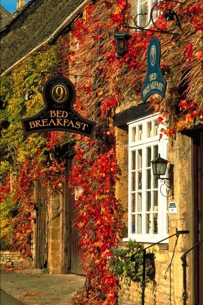 Осень на улицах Англии