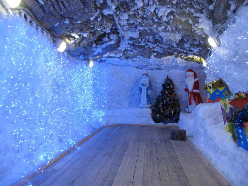 Цраство деда Мороза, Музей вечной мерзлоты в Игарке, Красноярский край
