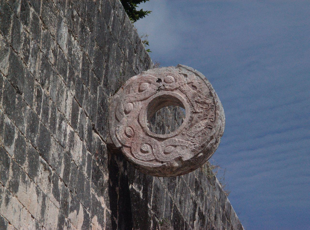 Чичен-Ица, кольцо для игры в мяч