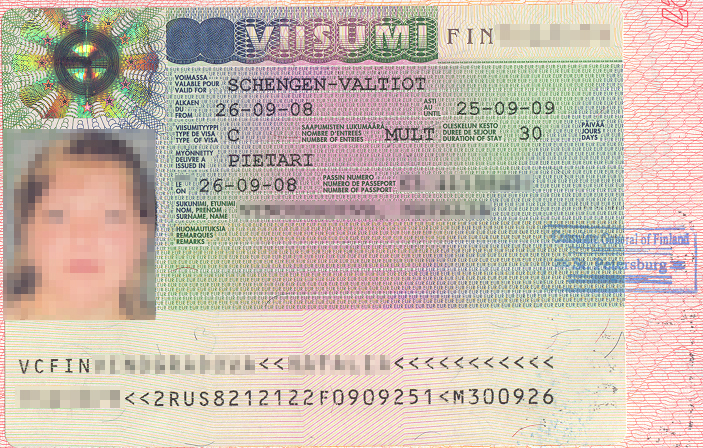 Как получить и оформить визу в Финляндию самостоятельно 80