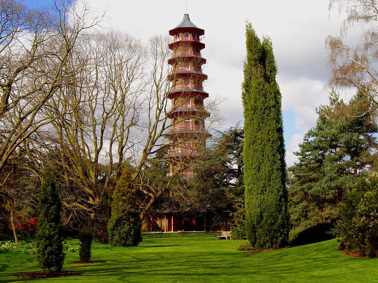 Королевские ботанические сады Кью, пагода