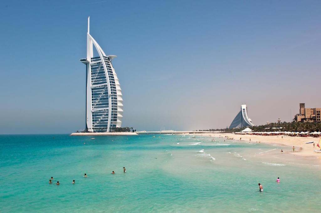 Закрытые пляжи Дубая (часть 2)