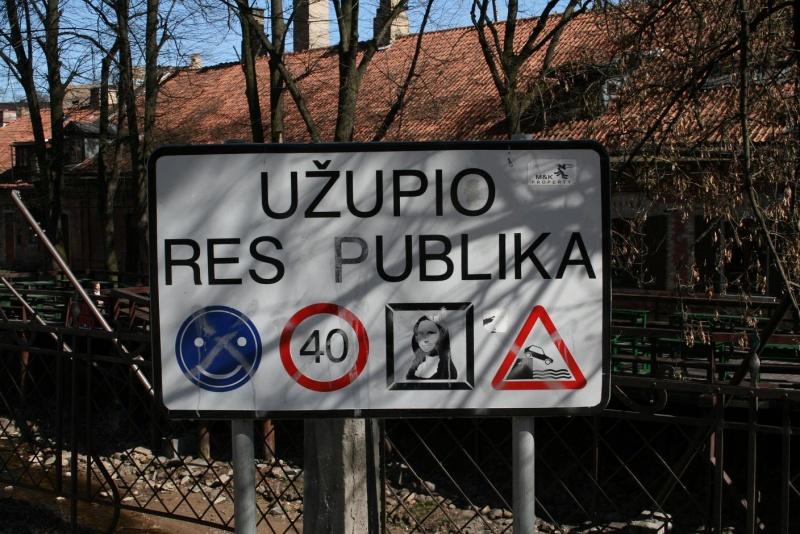 Рес публика Ужупис в Вильнюсе, Литва