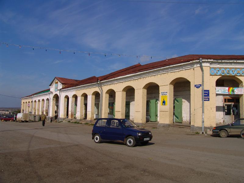 Гостиный двор Кунгура