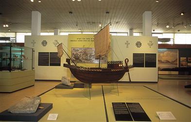 Экспонаты национального музея Maritime в Хайфе
