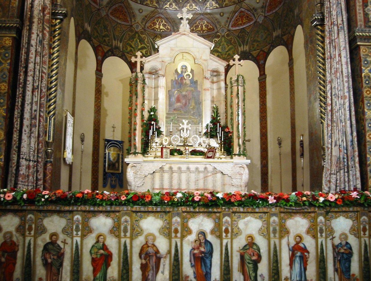 Эчмиадзинский кафедральный собор, алтарь