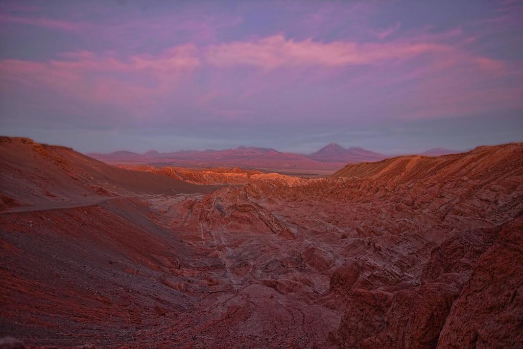 Закат над Андами
