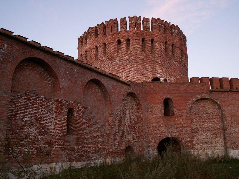 Крепостные стены в Смоленске
