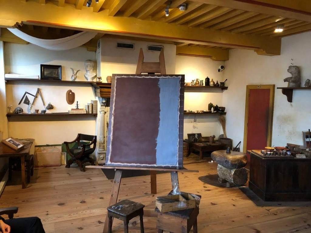 Мастерская в музее Рембрандта в Амстердаме, Нидерланды