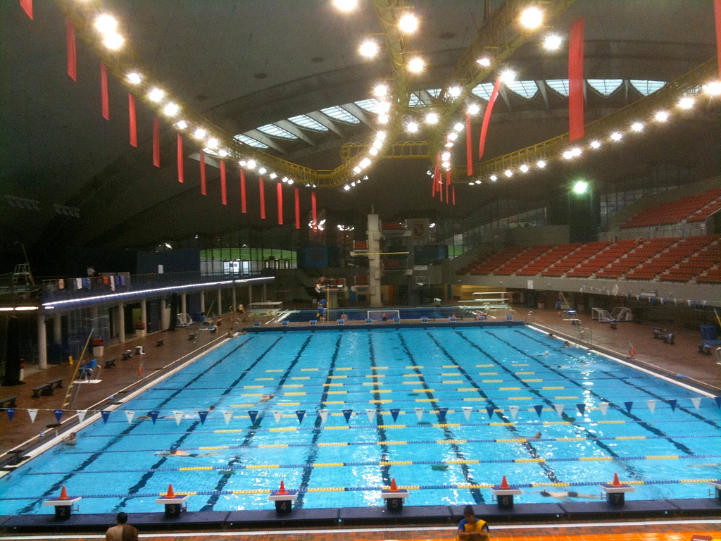 Олимпийский стадион Монреаля, аква-центр