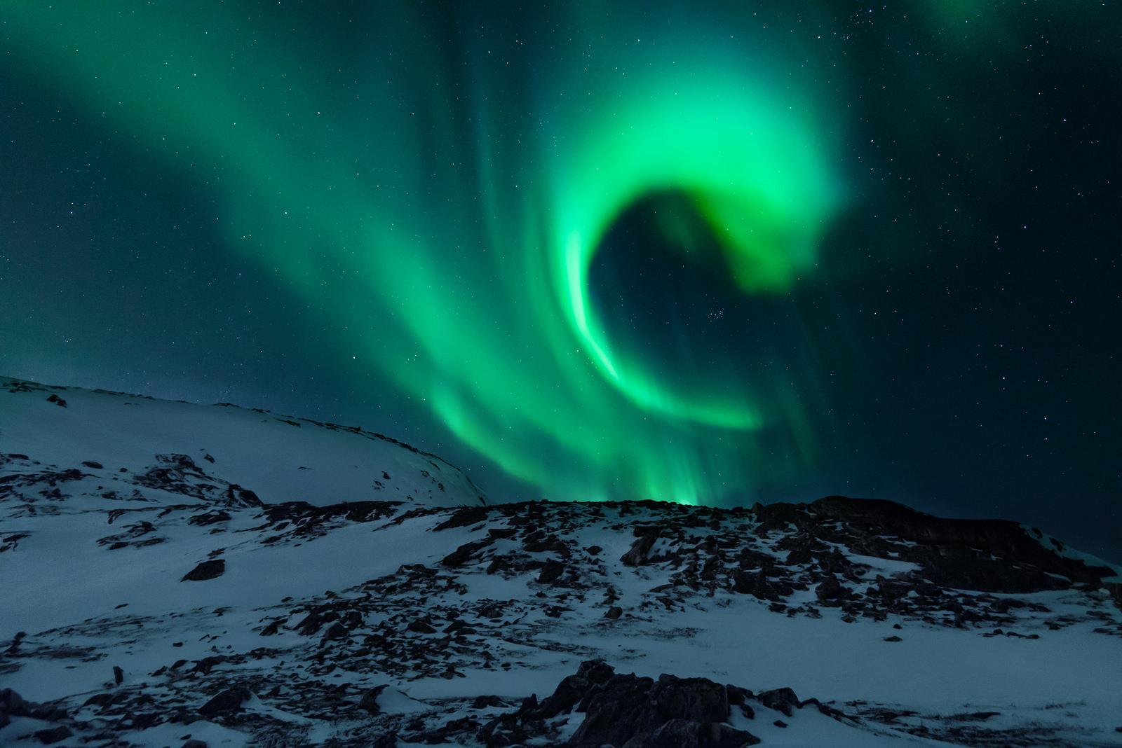 Сияние в Норвегии
